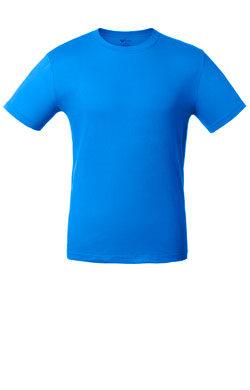Детская футболка джинсового цвета