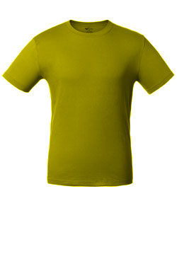 Детская футболка горчичного цвета