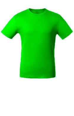 Детская футболка лаймового цвета