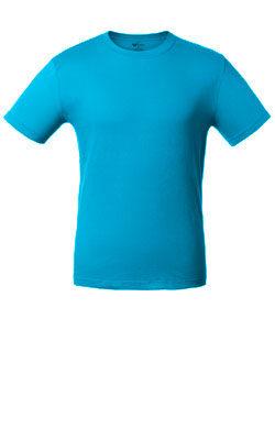 Детская футболка лазурного цвета