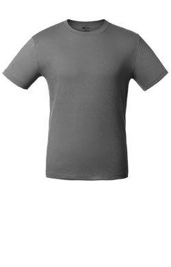 Детская футболка меланджевого цвета
