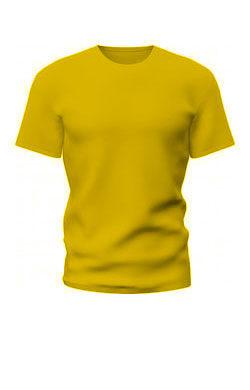 Темно-желтая футболка