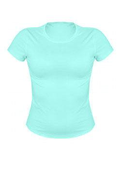 Женская футболка цвета ментола
