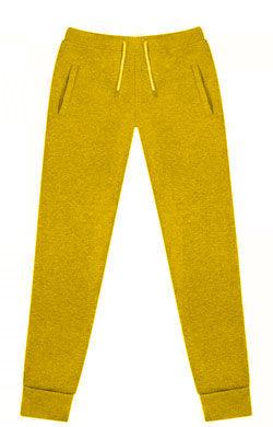 Штаны мужские Classic желтые