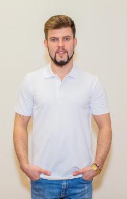 рубашка-поло мужская белое