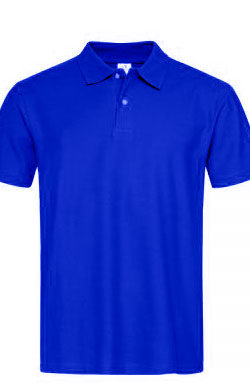 Поло мужское Classic темно-синее