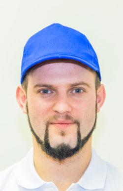 бейсболка мужская синяя