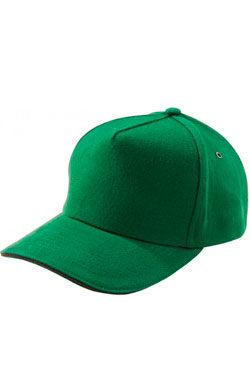 Бейсболка под сублимацию Classic зеленая