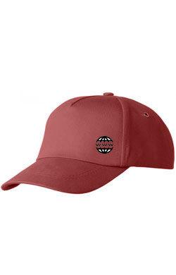 Бейсболка с логотипом Classic бордовая