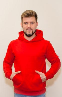 красное худи