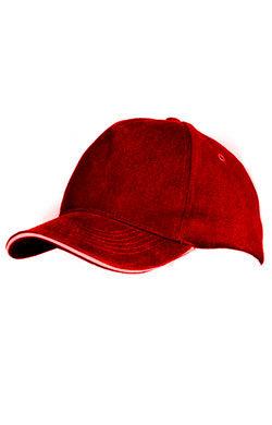 Бейсболка Premium красная