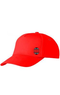 Бейсболка с логотипом Classic красная