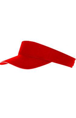 Козырек Classic красный