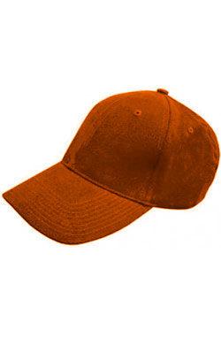 Бейсболка велюр Classic оранжевая