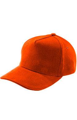 Бейсболка под сублимацию Classic оранжевая