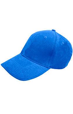 Бейсболка велюр Classic синяя