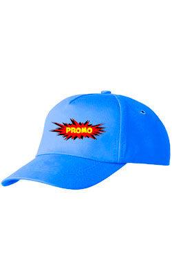 Бейсболка ПРОМО Classic синяя
