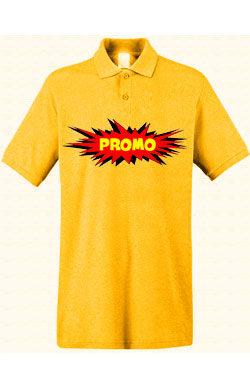 Поло ПРОМО Classic темно-желтое