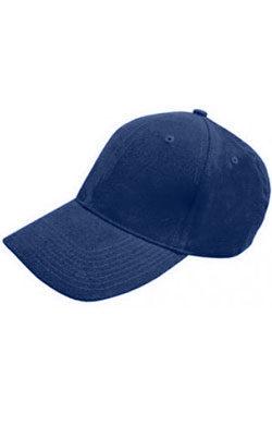 Бейсболка велюр Classic темно-синяя