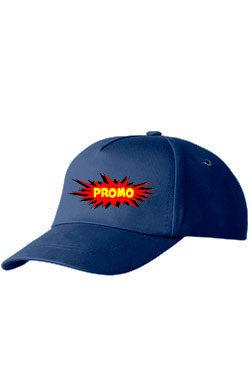 Бейсболка ПРОМО Classic темно-синяя