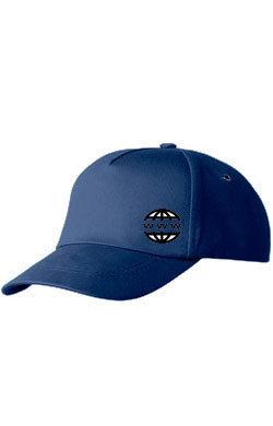 Бейсболка с логотипом Classic темно-синяя