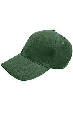 Бейсболка велюр Classic темно-зеленая