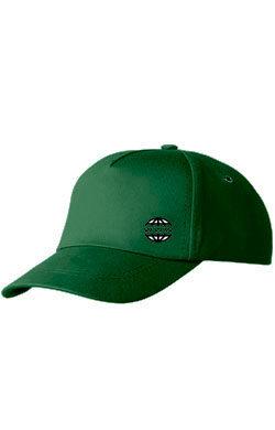 Бейсболка с логотипом Classic темно-зеленая