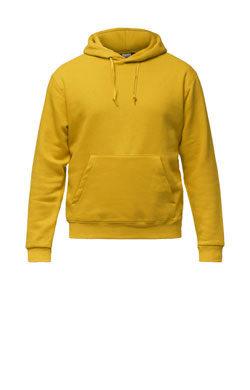 Темно-желтое худи