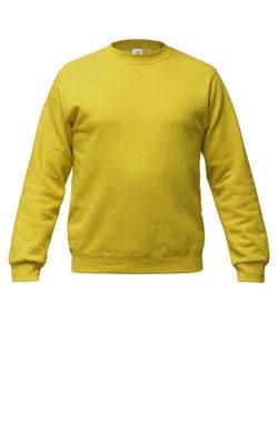 Темно-желтый свитшот