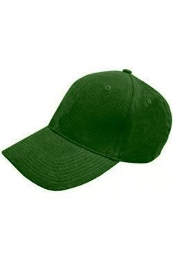 Бейсболка велюр Classic зеленая